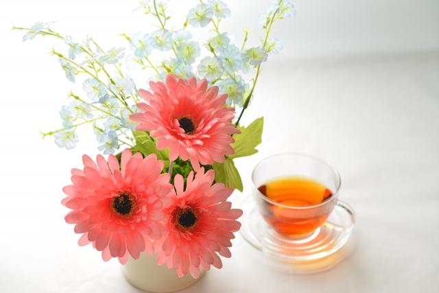 フック・花とお茶